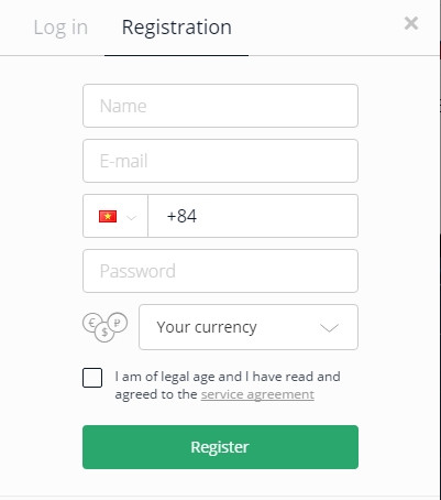 Cách đăng ký tài khoản Olymp Trade