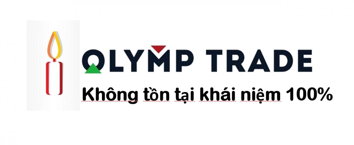 không có khái niệm chắc chắn tại Olymp Trade