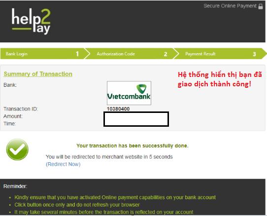 Lưu giữ biên lai gửi tiền của ngân hàng