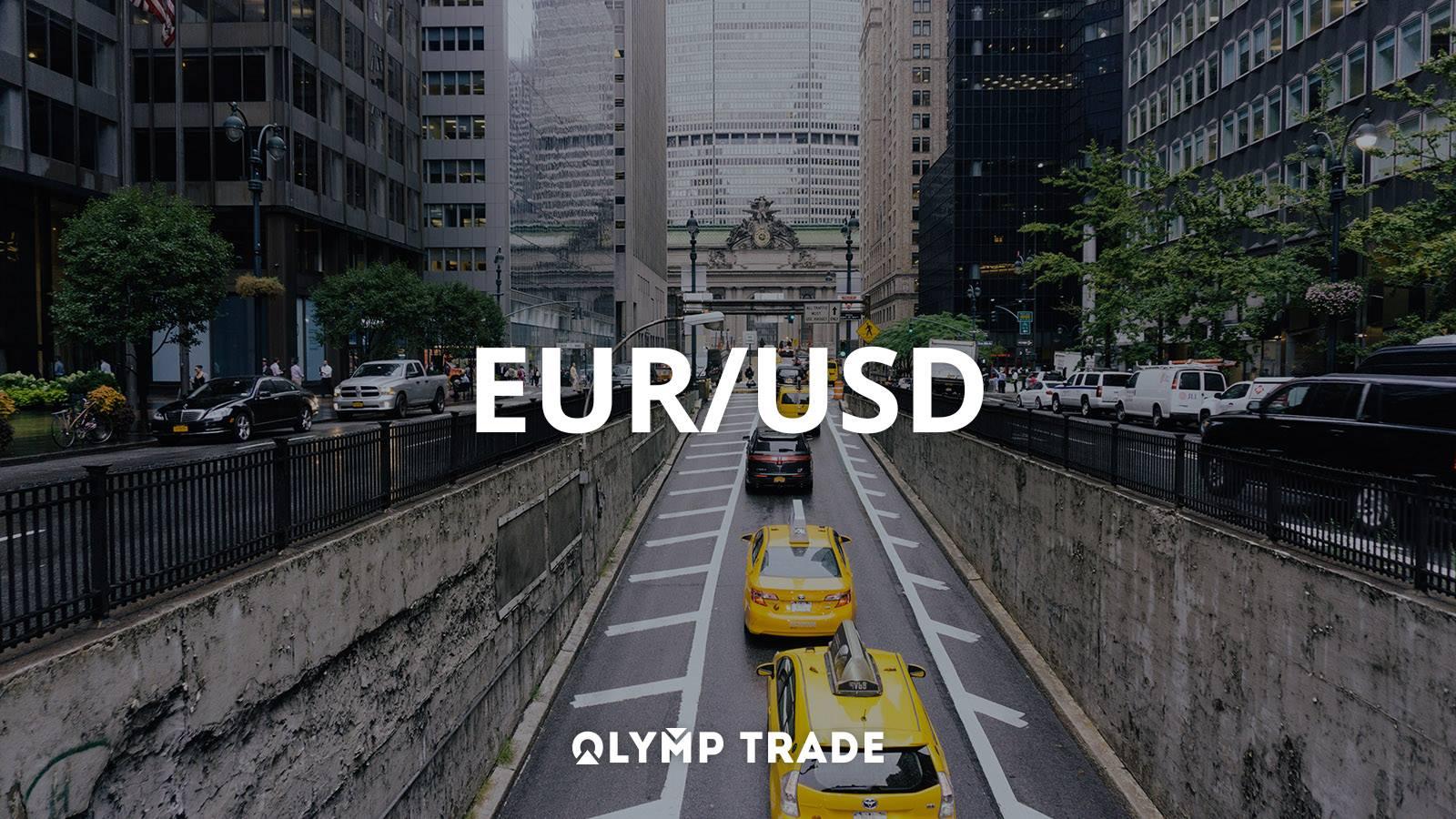 cặp tiền duy nhất EUR/USD cho tài khoản VIP tại Olymp Trade