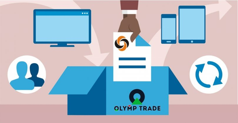 Nạp rút tiền vào Olymp Trade thông qua ví ngân lượng