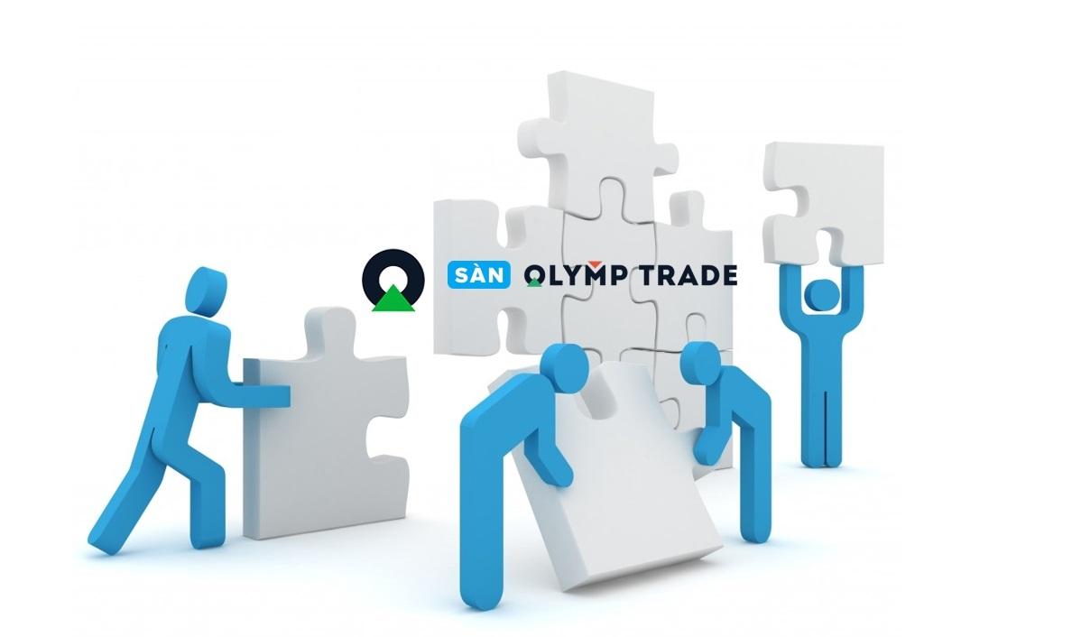 Cơ cấu nhân sự của website sàn Olymp Trade hiện tại