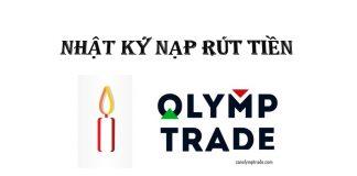 Test rút tiền về tài khoản lạ tại Olymp Trade. Chốt 50% lợi nhuận trong 2 ngày