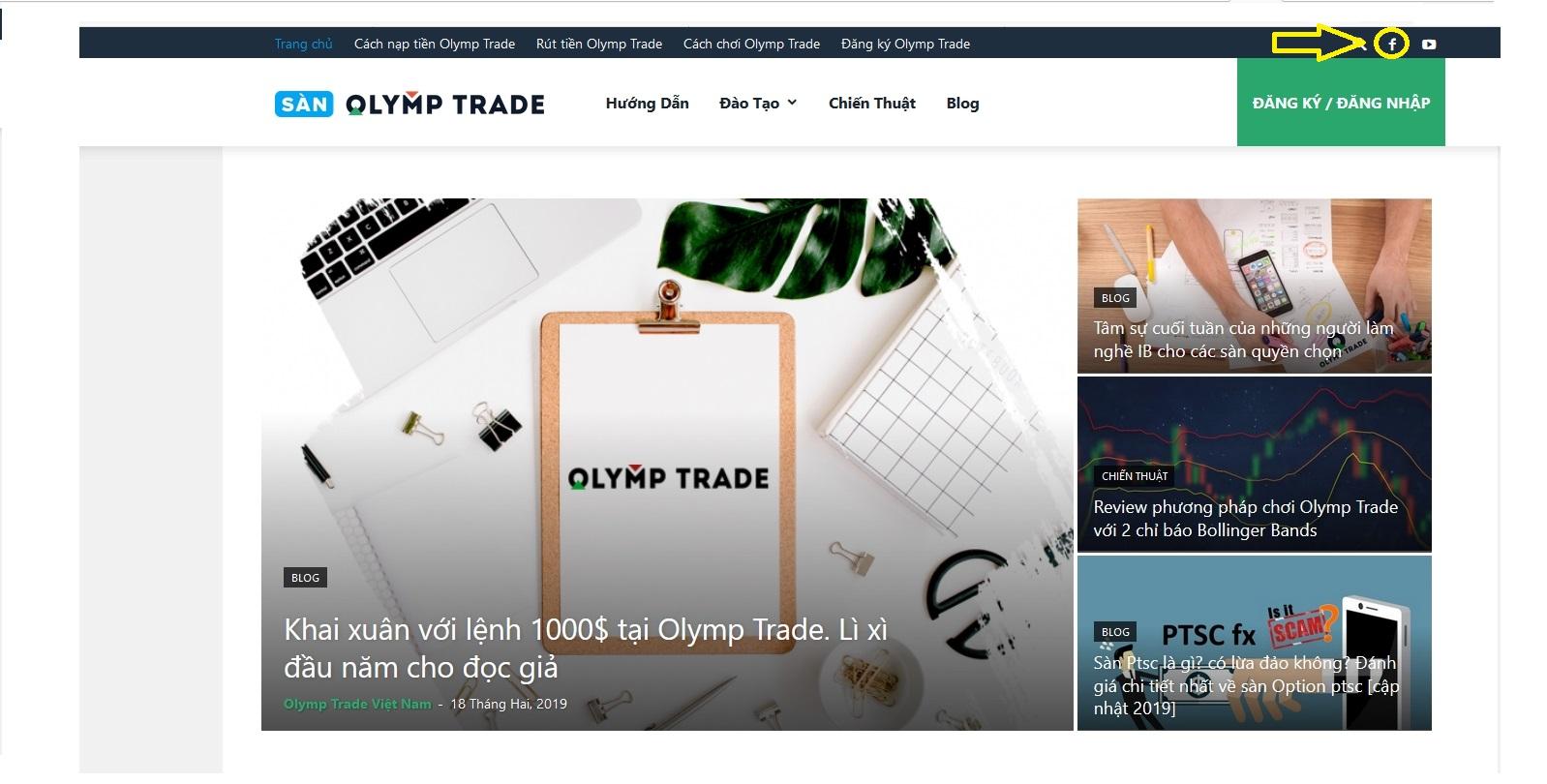 Tham gia group Olymp Trade Việt Nam