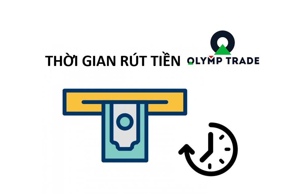 Thời gian rút tiền tại Olymp Trade