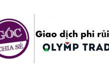 Giao dịch phi rủi ro để kiếm tiền tại Olymp Trade