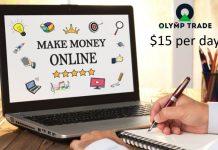 Góc chia sẻ: Kiếm 15$ mỗi ngày từ Olymp Trade chỉ với Bollinger Bands