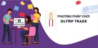 Hướng dẫn cách chơi Olymp Trade với cây nến test