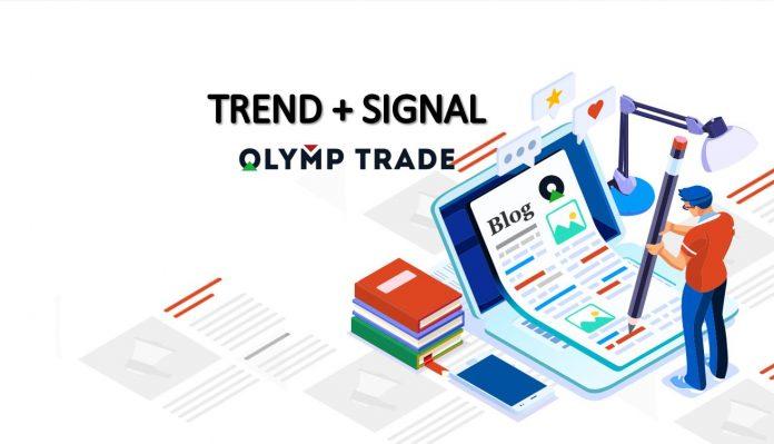 Kiếm tiền Olymp Trade: Uptrend và tín hiệu vào lệnh