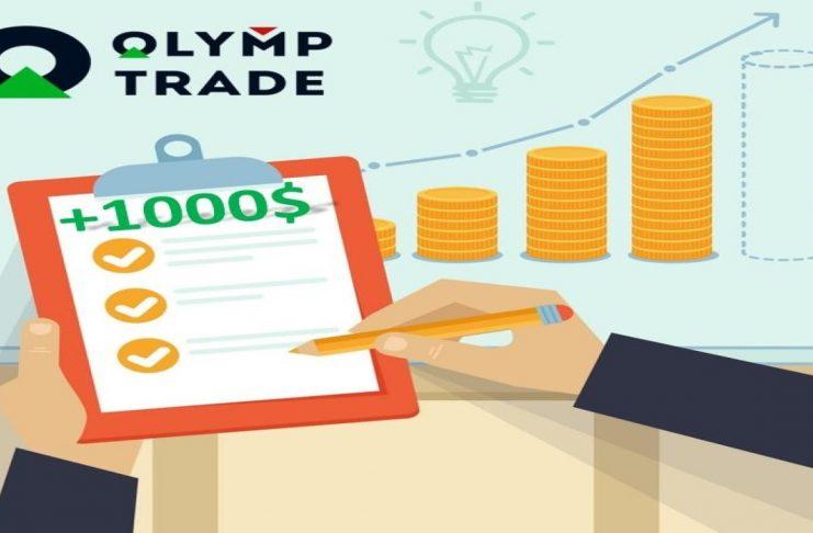 Kiếm ngay 1000$ khi sử dụng mô hình nến 3 đỉnh giao dịch Forex tại Olymp Trade