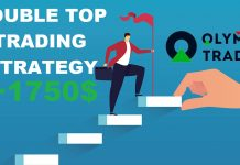 Kiếm hơn 10% tài khoản với mô hình giá 2 đỉnh trong Forex tại Olymp Trade