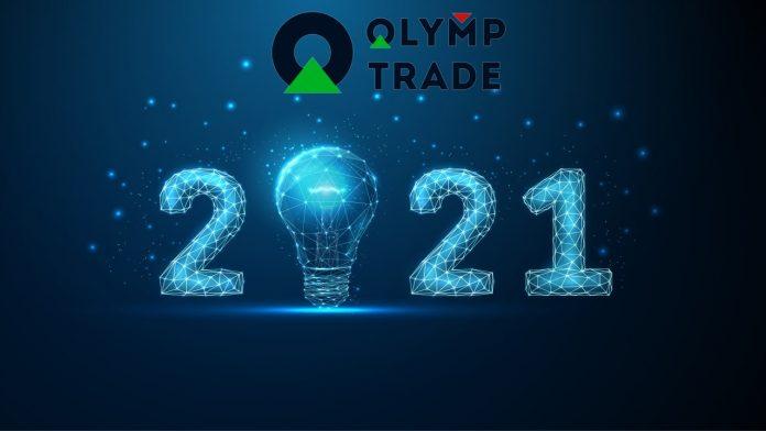 Kiếm tiền Olymp Trade hơn 450$ trong 3 lệnh giao dịch đầu năm